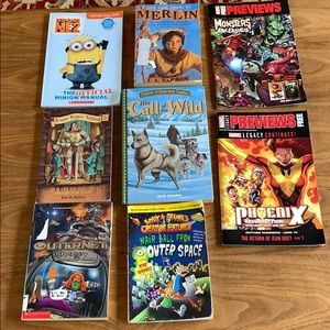Lot of kids books – used